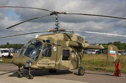 Ấn Độ sẽ lắp ráp trực thăng của Nga