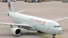 Máy bay của Air Canada phải hạ cánh khẩn cấp