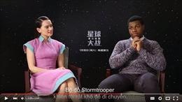 Đoàn làm phim Star Wars gửi lời chúc tới fan Việt Nam