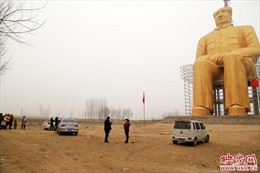 Trung Quốc dựng tượng cố chủ tịch Mao Trạch Đông