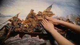 Tranh 3D mở rộng thế giới hội họa cho người mù
