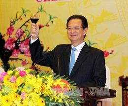 Thủ tướng chiêu đãi tiệc mừng Cộng đồng ASEAN và năm mới