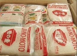 Bắt khẩn cấp đối tượng buôn bán mì chính, bột giặt giả