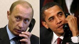 Lãnh đạo Mỹ, Nga điện đàm về tình hình thế giới