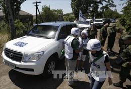 Quan sát viên OSCE tại Đông Ukraine lại bị bắn