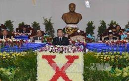 Khai mạc Đại hội Đảng Nhân dân Cách mạng Lào