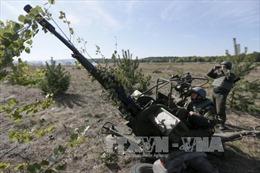 Ukraine tái triển khai khí tài hạng nặng ở Donbass