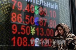 Tỉ giá đồng ruble của Nga thấp kỷ lục
