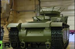 """Nga phục chế """"quái vật"""" tăng 5 tháp pháo T-35"""