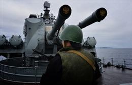 Nga phô trương sức mạnh hải quân ở Địa Trung Hải