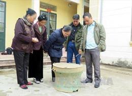 Phát hiện trống đồng cổ tại Điện Biên