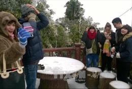 Tuyết rơi tại Vườn Quốc gia Ba Vì, Hà Nội