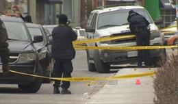 Ba vụ nổ súng chỉ trong một đêm tại Canada