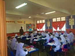 Chống khủng bố ngay trong lớp học