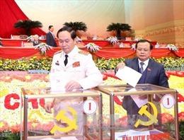 Thông cáo báo chí ngày làm việc thứ sáu Đại hội XII