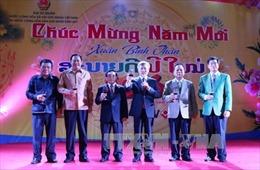Đại sứ quán Việt Nam tại Lào tổ chức tiệc đón Xuân