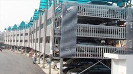 Hà Nội khánh thành bãi đỗ xe giàn thép có cảm biến thông minh
