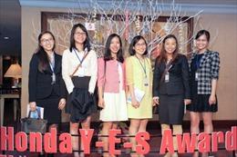 Giải thưởng Honda Y-E-S tạo tiền đề cho các nhà khoa học trẻ