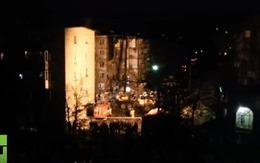 Nổ khí ga làm sập một tòa nhà ở Nga