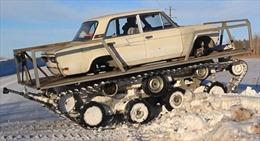 Khi ô tô Lada biến thành xe tăng