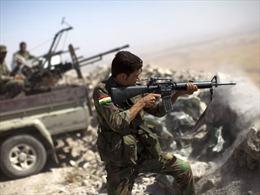 Người Kurd cáo buộc IS sử dụng đạn cối hóa học