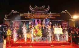Đền Trần Thương nhận bằng xếp hạng Di tích Quốc gia đặc biệt