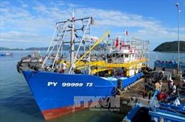 Quảng Ngãi: Bàn giao tàu vỏ thép lưới rê cho ngư dân