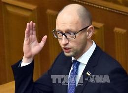 Nhiễu thông tin Thủ tướng Ukraine chấp nhận từ chức