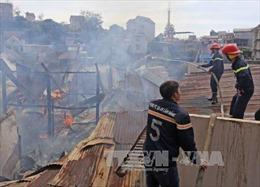 Hỏa hoạn thiêu rụi một cửa hàng bách hóa ở thành phố Pleiku