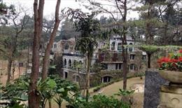 Đình chỉ xây resort không phép trong Vườn Quốc gia Ba Vì