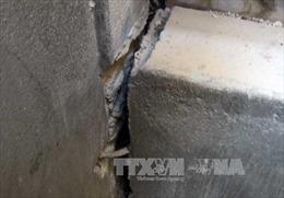 Trường Mầm non Điền Hạ bị sụt lún, khoảng 200 trẻ phải đi học tạm