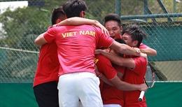 Việt Nam đánh bại Indonesia 3 - 2 ở Davis Cup