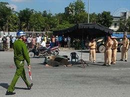 Làm rõ vụ xe tải cố ý đâm chết người tại Đà Nẵng