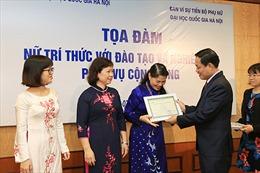 ĐHQG Hà Nội vinh danh các nhà khoa học nữ xuất sắc