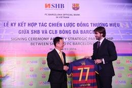 Ngân hàng SHB và CLB Barcelona ký kết hợp tác chiến lược