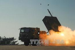 Tên lửa Hàn Quốc giăng dọc hải giới với Triều Tiên