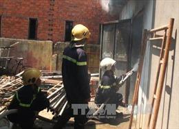 Cháy lớn tại Khu công nghiệp Quế Võ, Bắc Ninh