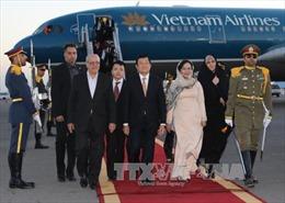 Chủ tịch nước Trương Tấn Sang bắt đầu chuyến thăm Iran