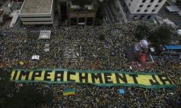 2,4 triệu người biểu tình đòi Tổng thống Brazil từ chức