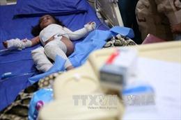 Hơn 160 vụ tấn công vũ khí hóa học ở Syria