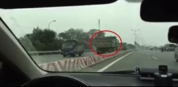 Công an Hà Nội mạnh tay với tệ đi ngược chiều trên quốc lộ