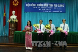 Bầu bổ sung lãnh đạo HĐND và UBND tỉnh An Giang