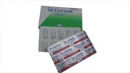 Thu hồi thuốc tân dược giả Dianfagic