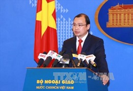 Phản đối Đài Loan đưa phóng viên ra đảo Ba Bình
