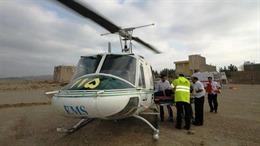 Rơi trực thăng Iran, 9 người thiệt mạng