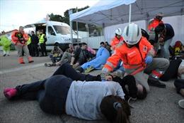 Pháp diễn tập cứu hộ đề phòng bị tấn công khủng bố