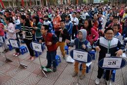 Hơn 1.000 học sinh tiểu học thi Olympic tiếng Anh