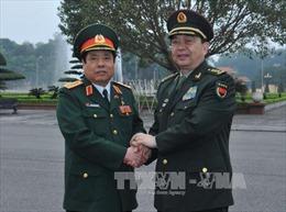Đại tướng Phùng Quang Thanh hội đàm với Bộ trưởng Quốc phòng Trung Quốc