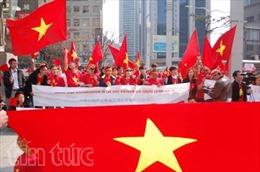 Người Việt tại Hàn Quốc phản đối Trung Quốc ngang ngược trên Biển Đông