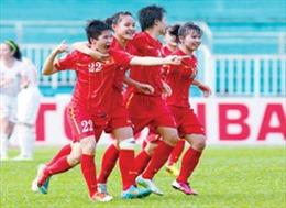 Giải bóng đá nữ VĐQG 2016 sẽ đá bán kết và chung kết